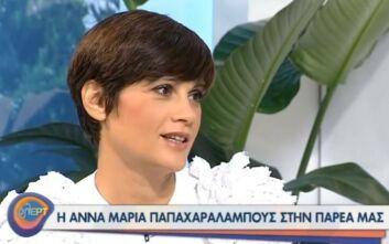 Η εξομολόγηση της Άννας Μαρίας Παπαχαραλάμπους για το παιδί που σκέφτεται να υιοθετήσει