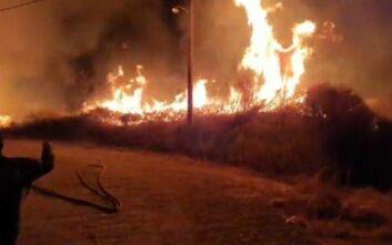 Φωτιά τώρα στην Πάτρα