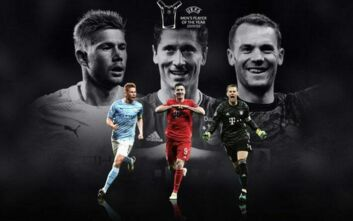 UEFA: Αυτοί είναι οι υποψήφιοι για τον κορυφαίο παίκτη – Μετά από 10 χρόνια Μέσι και Ρονάλντο εκτός