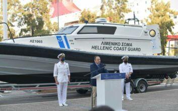 Δύο περιπολικά σκάφη με υγειονομικό εξοπλισμό εντάχθηκαν στον στόλο του Λιμενικού