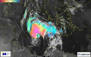 Κακοκαιρία Ιανός: Συναγερμός στις Αρχές - Οι περιοχές που θα βρεθούν στο μάτι του μεσογειακού κυκλώνα