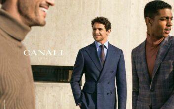 Η ιστορία του brand Canali μέσα από ένα διαδικτυακό ανθολόγιο