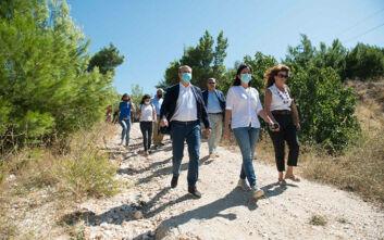 Χατζηδάκης: Στόχος η περιβαλλοντική προστασία και ανάδειξη της Πεντέλης