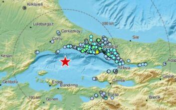 Σεισμός τώρα στη θάλασσα του Μαρμαρά