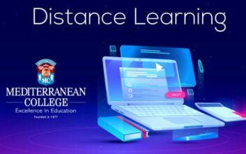Η εμπειρία της Distance Learning Φοίτησης στο Mediterranean College