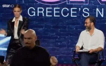 GNTM 3: Ο διαγωνιζόμενος που ξεσήκωσε τους κριτές και το «έριξαν» στο χορό