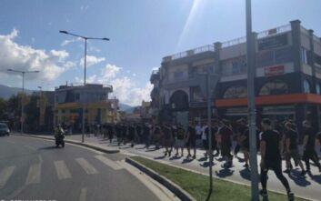 Ένταση στο Βόλο με οπαδούς της ΑΕΚ κι αστυνομικούς