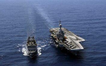 Charles de Gaulle: Έρχεται στην Ανατολική Μεσόγειο με ισχυρή συνοδεία και μυστική αποστολή