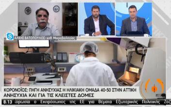 Βατόπουλος: Το φθινόπωρο θα είναι μεγάλη πρόκληση για τους γιατρούς για να μπορέσουν να ξεχωρίσουν τη γρίπη από τον κορονοϊό