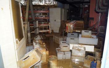 Μεγάλη ζημιά στο Αρχαιολογικό Μουσείο Καρδίτσας λόγω της κακοκαιρίας «Ιανός»