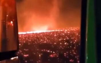 Κόλαση επί Γης: Πύρινος ανεμοστρόβιλος στις πυρκαγιές της Καλιφόρνια