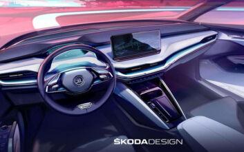 Design Selections: Η φιλοσοφία σχεδίασης στο εσωτερικό του ηλεκτρικού Skoda ENYAQ iV