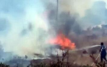 Μεγάλη φωτιά στην Αρτέμιδα: Κάτοικοι καλούνται να απομακρυνθούν