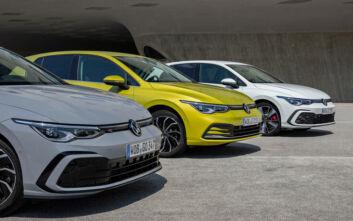 Πέντε εξηλεκτρισμένες εκδόσεις του VW Golf