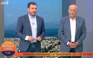 Γιώργος Παπαδάκης: Αποκάλυψε πως συνεργάτης του είχε κορονοϊό