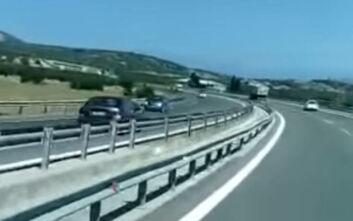Οδηγούσε ανάποδα για 13 χιλιόμετρα σε ώρα αιχμής στον Περιφερειακό Χαλκίδας - Σχηματαρίου