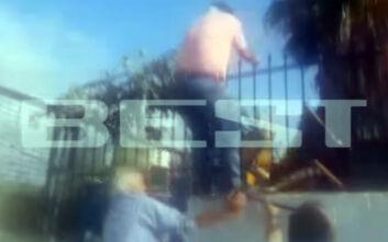 Κακός χαμός σε λύκειο στην Καλαμάτα: Χτυπούν με καρέκλα πατέρα που ήθελε να μπει στην κατάληψη