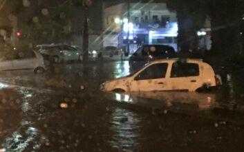 Κακοκαιρία Ιανός: Πλημμύρισε το Ηράκλειο – Προκλήθηκαν ζημιές και προβλήματα στην ηλεκτροδότηση