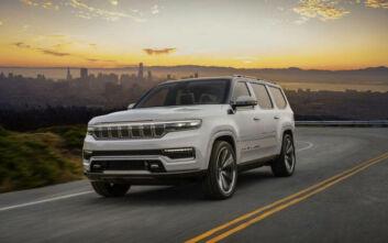 Νέο Jeep Grand Wagoneer Concept: Η απόλυτη Premium πρόταση της Jeep στα SUV