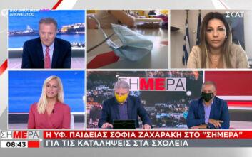 Ζαχαράκη: Η κατάληψη δεν είναι απάντηση