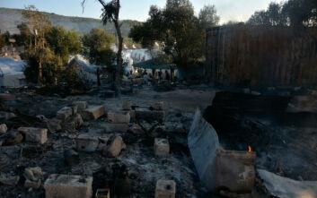 Συγκλονιστικές φωτογραφίες και βίντεο από την ολική καταστροφή στη Μόρια