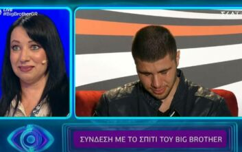 Big Brother: Συγκίνησε η μητέρα του Βλαδίμηρου Νικόλα - «Συγγνώμη που ήμουν μικρή και δε διάλεξα τον σωστό πατέρα»