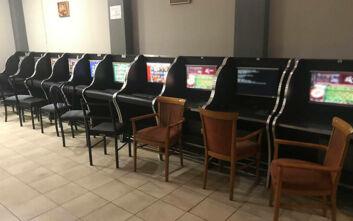 «Καμουφλάρισαν» μαγαζί για να διεξάγονται μέσα του παράνομα τυχερά παιχνίδια