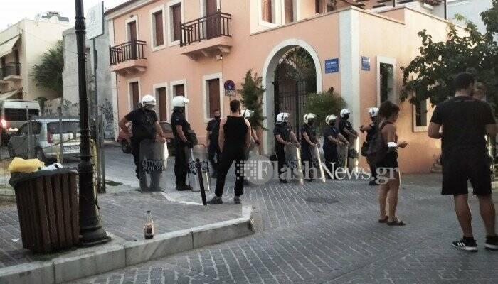 Χανιά: Εκκενώθηκε έπειτα από 16 χρόνια η κατάληψη Rosa Nera στην παλιά πόλη