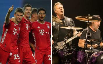 H Μπάγερν Μονάχου χρησιμοποίησε το «Enter Sandman» και οι Metallica έστειλαν συγχαρητήρια για το επιτυχημένο 2020