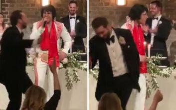 Ο «Έλβις» τραγουδάει Βασίλη Καρρά σε γάμο στην Αυστραλία