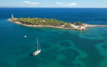 Το μυστικό νησάκι της Λακωνίας