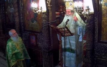 Ο Μητροπολίτης Κοζάνης καλούσε τους πιστούς να φωνάξουν «Ζήτω το έθνος, ζήτω η χωροφυλακή»