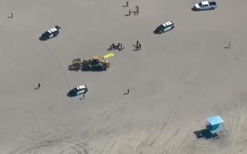 Τραγωδία στην Καλιφόρνια: Γυναίκα κοιμόταν στην παραλία και την πάτησε οδοστρωτήρας
