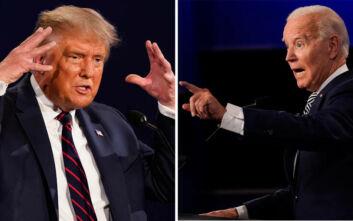 Ο Μπάιντεν προηγείται του Τραμπ σε έξι κρίσιμες Πολιτείες