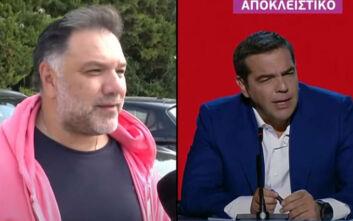 Γρηγόρης Αρναούτογλου: Κάλεσα τον Αλέξη Τσίπρα δημοσίως στην εκπομπή