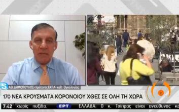 Δημόπουλος: Πρέπει να περιορίσουμε τα κρούσματα κορονοϊού πριν συμπέσουμε με την γρίπη