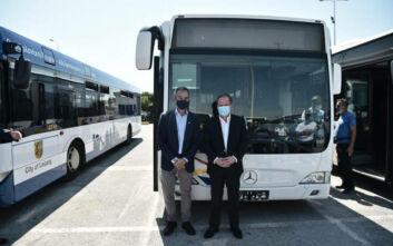 Κώστας Αχ. Καραμανλής: Μέχρι το τέλος του χρόνου θα κυκλοφορούν 550 λεωφορεία στους δρόμους της Θεσσαλονίκης