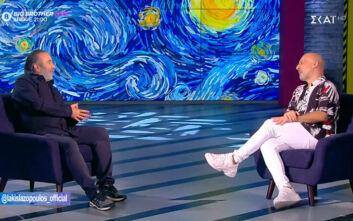 Λάκης Λαζόπουλος: Βρέθηκα στην τηλεόραση τελείως συμπτωματικά