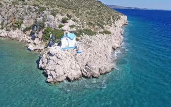 Η βγαλμένη από πίνακα ζωγραφικής λιμνοθάλασσα σε απόσταση αναπνοής από την Αθήνα