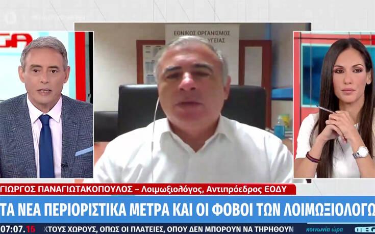 Αντιπρόεδρος ΕΟΔΥ: Δεν αποκλείεται να χρειαστούν και νέα μέτρα στην Αττική