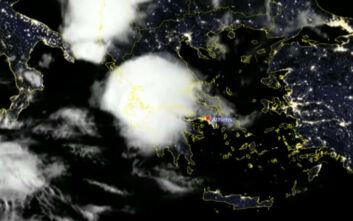 Καιρός: Βίντεο με τις καταιγίδες του διημέρου από το διάστημα