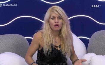 Big Brother: Την πήρε το παράπονο την Άννα Μαρία Ψυχαράκη γιατί της μίλησε απότομα ο Χρήστος Μακρίδης