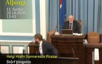 Σεισμός 5,6 Ρίχτερ στην Ισλανδία: Έντρομος βουλευτής έφυγε τρέχοντας από το βήμα