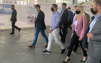 Η Έλενα Ράπτη παρούσα στην περιοδεία του Υφυπουργού Αθλητισμού Λευτέρη Αυγενάκη στη Θεσσαλονίκη