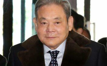 Απεβίωσε σε ηλικία 78 ετών ο πρόεδρος της Samsung, Λι Κουν Χι