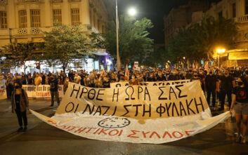 Συγκέντρωση στη Θεσσαλονίκη για τη δίκη της Χρυσής Αυγής - «Ο λαός απαιτεί, οι ναζί στη φυλακή» το κεντρικό σύνθημα