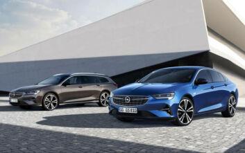 Νέοι κινητήρες diesel και βενζίνης συμμορφούμενοι με τα πρότυπα ρύπων Euro 6d για το Opel Insignia