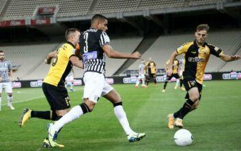 ΑΕΚ - ΠΑΟΚ: 1-0 στο 23' ο Ανσαριφάρντ