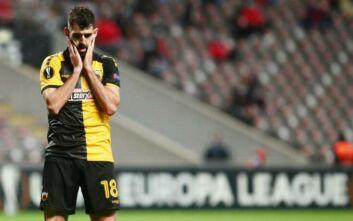 Μπράγκα - ΑΕΚ: 1-0 στο 44' ο Γκαλένο