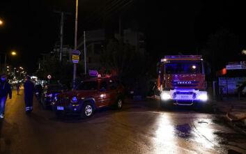 Υπό έλεγχο τέθηκε η φωτιά στο Παλαιό Φάληρο